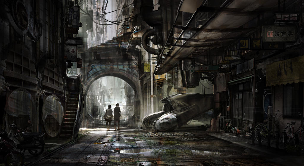 Alley by jaroldsng