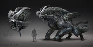 Black Dragonn by jaroldsng