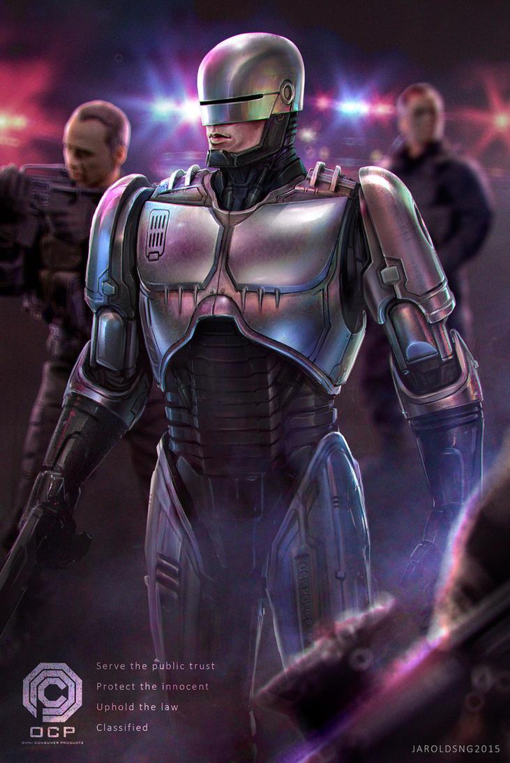 Robocop 2015 by jaroldsng