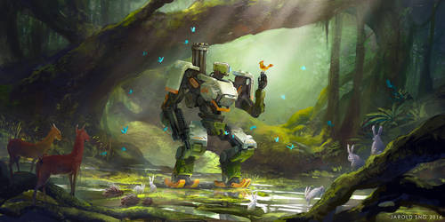 OVERWATCH: The Last Bastion Fan Art by jaroldsng