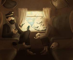 TT: Elementary my dear captain by Puffintalk