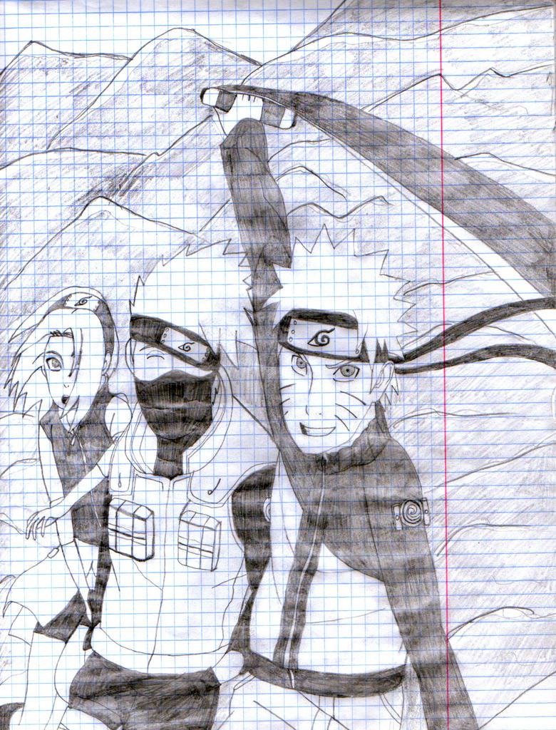 Naruto 1 by nyuhas