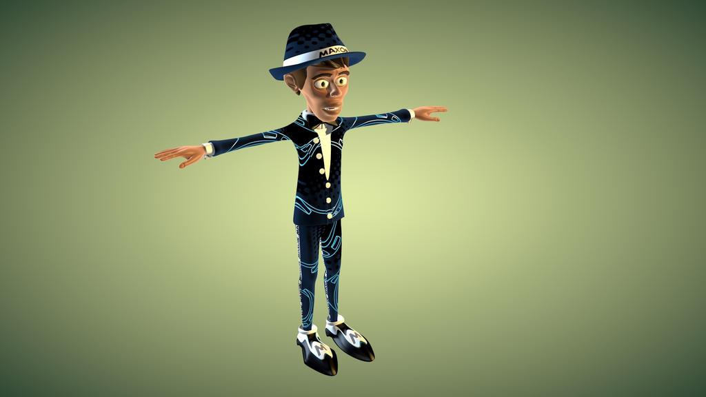 MaxonMan Cinema 4D Character by Bonewire on DeviantArt