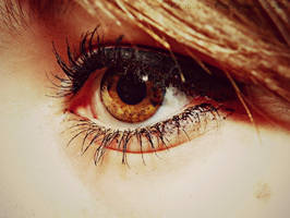 Detailed Eye Photograph by II-iShabayum-II
