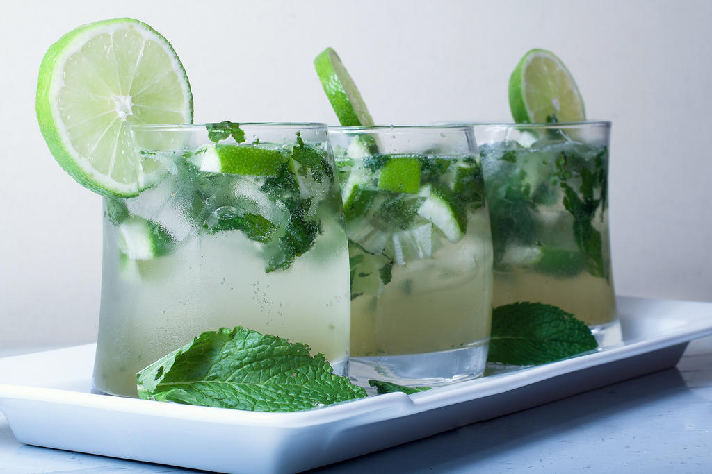 Mojitos drink. by FrancoPetrini
