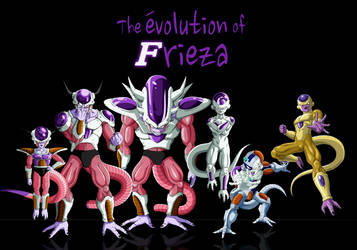 The Evolution Of Frieza by KhomIx