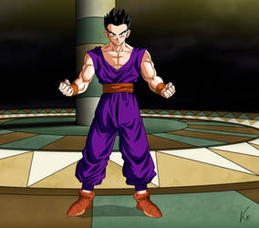 Gohan - Piccolo's style by KhomIx