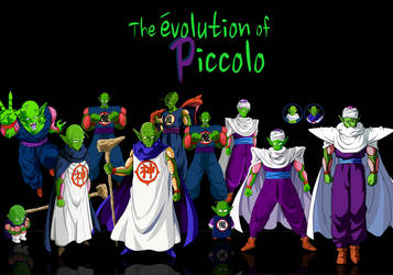 The Evolution off Piccolo by KhomIx