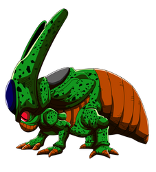 Cell ( larva ) RENDERS by KhomIx