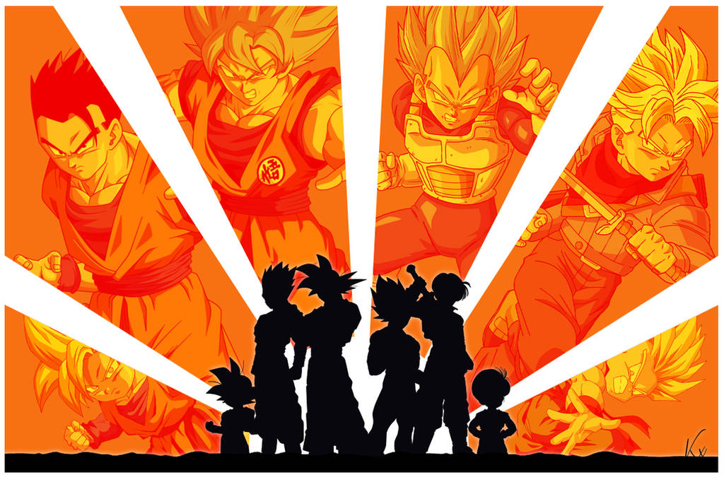 Poster DRAGON BALL by KhomIx