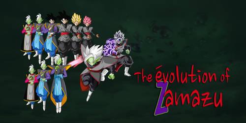 The Evolution Of Zamasu by KhomIx