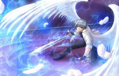 warrior angel by MyDarkestLove