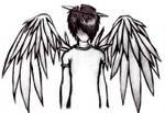 handdrawn angel