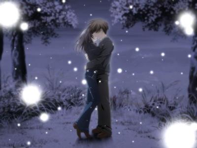 kissing by MyDarkestLove