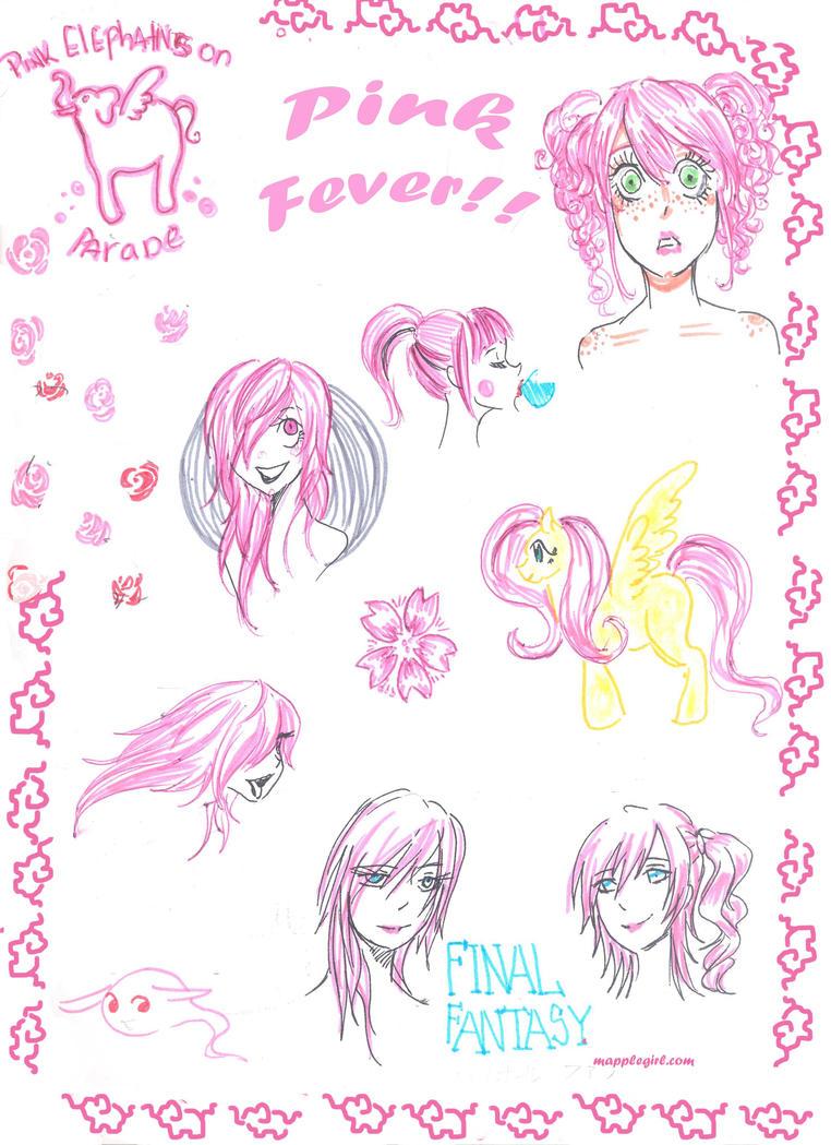 Pink Doodle by Mapplegirl