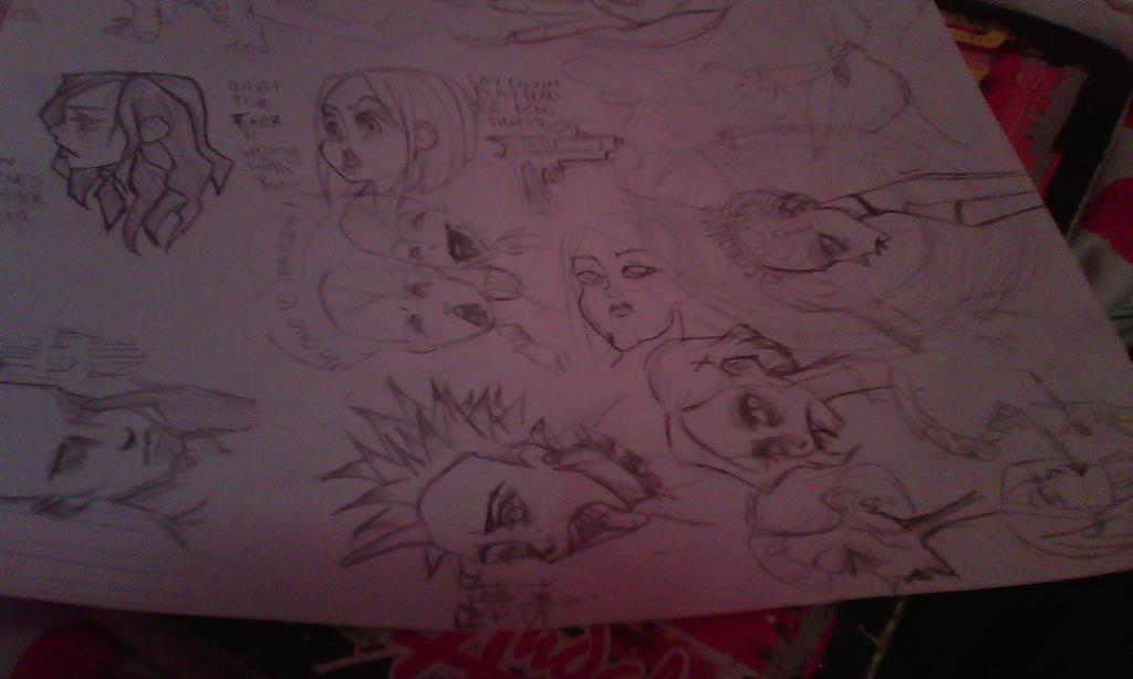Combichrist doodles by Mapplegirl