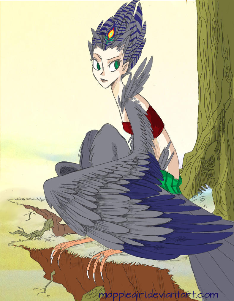Harpy by Mapplegirl