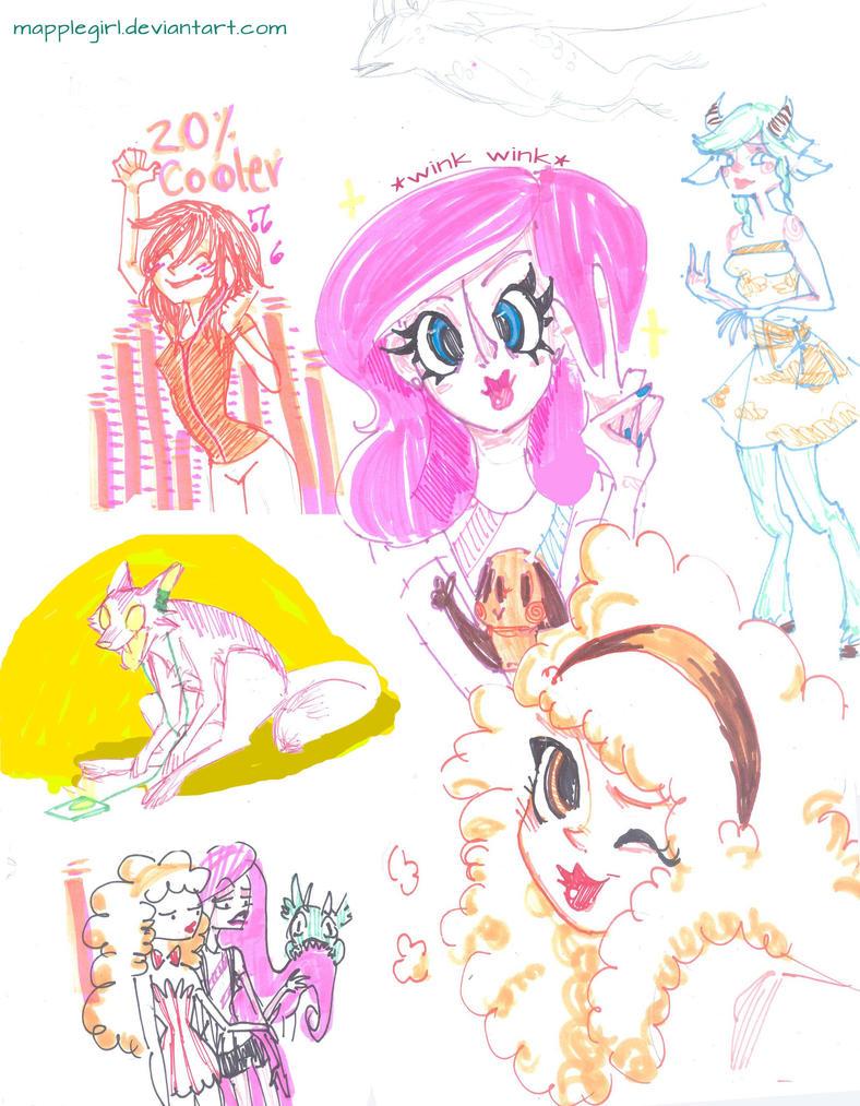 Doodle by Mapplegirl