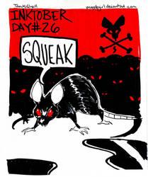 Inktober Day 26: Squeak by Mapplegirl