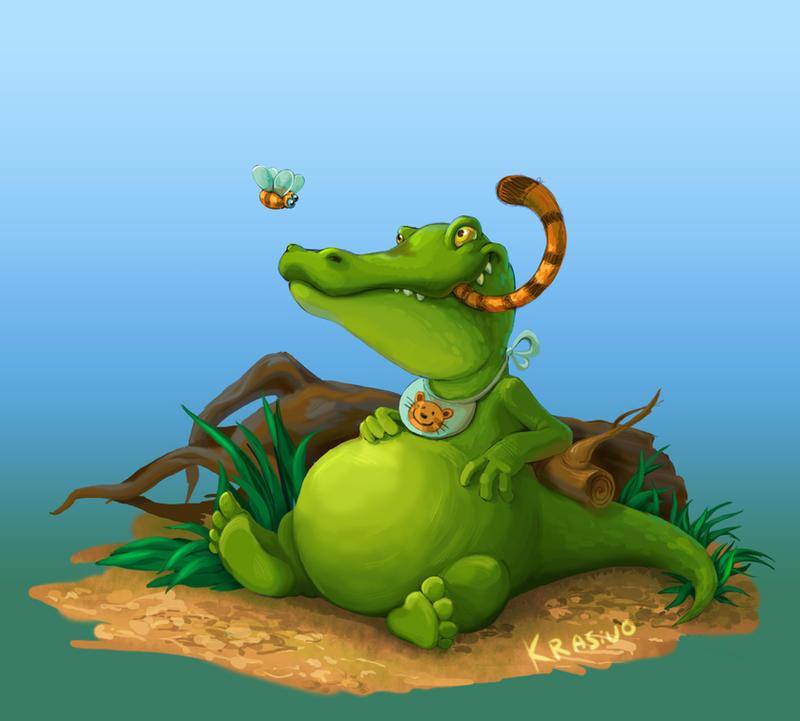 Crocodile by Sasha-Krasivo