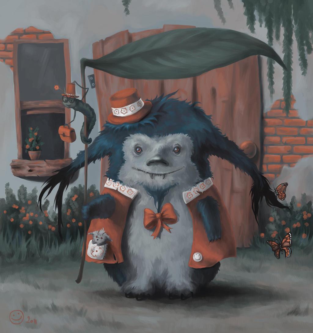 My Little Totoro by MeWannaLearn