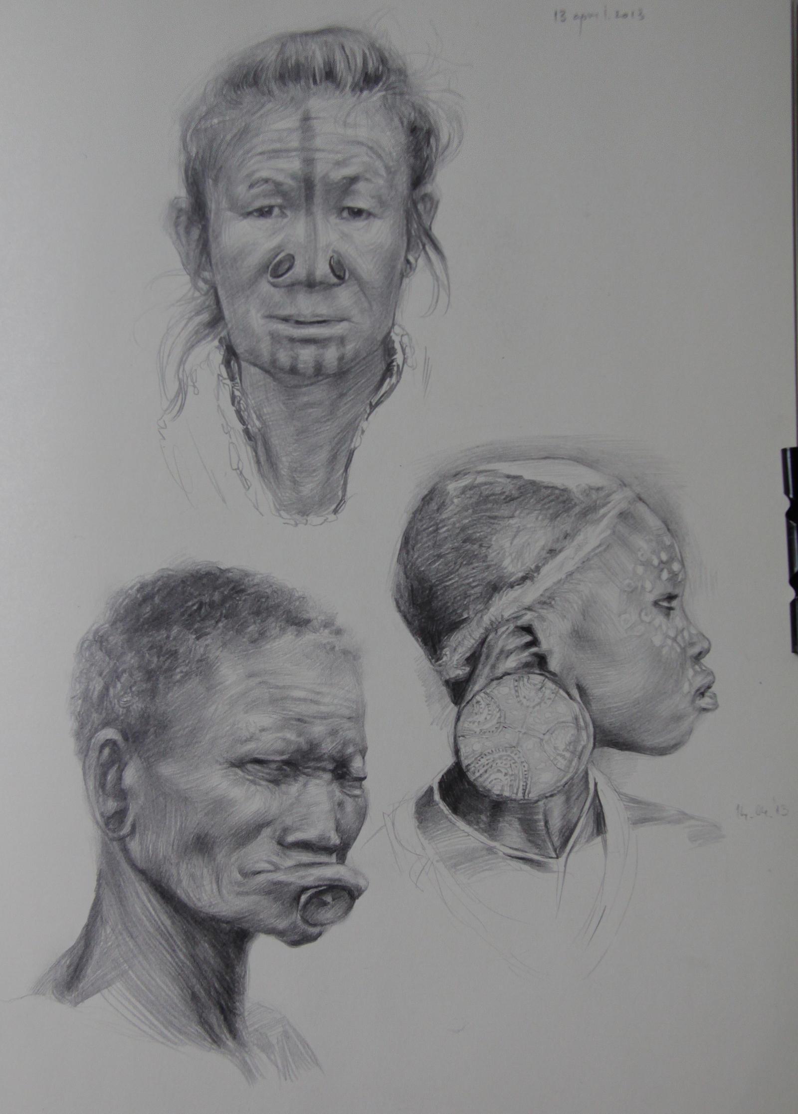 Sketching by MeWannaLearn