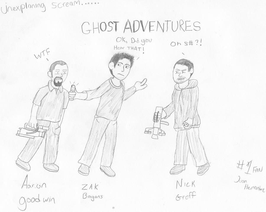ghost adventures crew by ick369 on deviantart