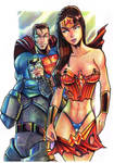 Superman, Batman, Wonder Woman DC Comics character