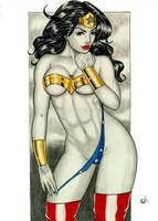 Wonder woman by Wellington Rafael by WellingtonRafael