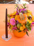 Flower Pumpkin by punkvampyre