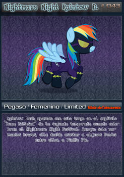 [043] Nightmare Night Rainbow D. [ES]