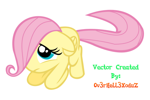 V05 - Filly Fluttershy Vector (Complete) HD