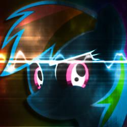 001 - Free Avatar - Special Rainbow Dash Colors