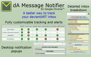 dA Message Notifier for Chrome [defunct]