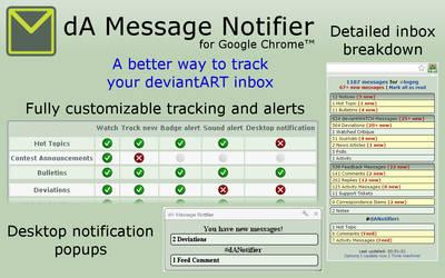 dA Message Notifier for Chrome by logeg