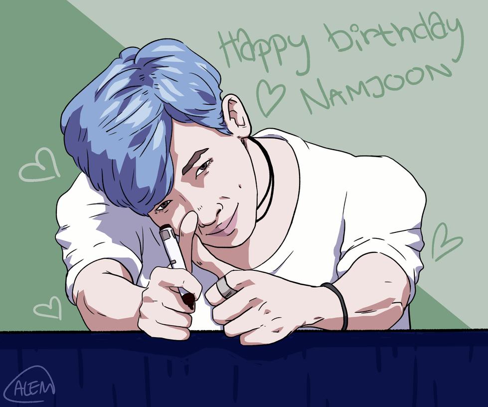 Happy birthday, Namjoon! by Annolis