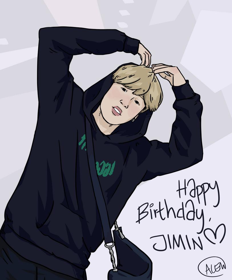 Happy Birthday, Jimin! by Annolis