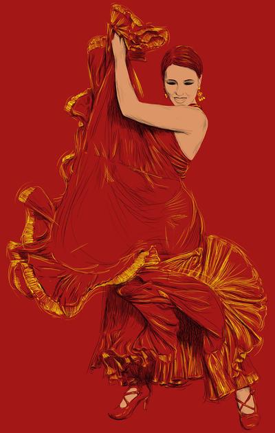 Flamenco by Olechka01