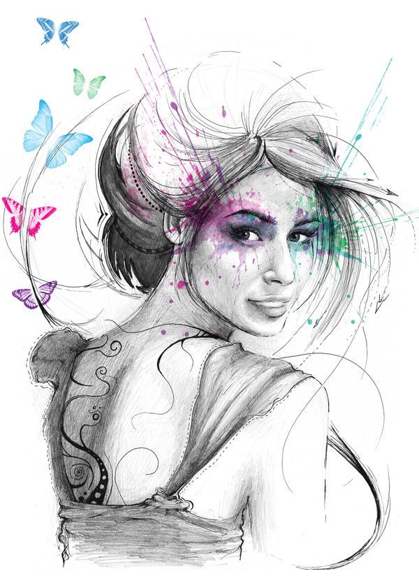 Butterfly Fairy by Olechka01