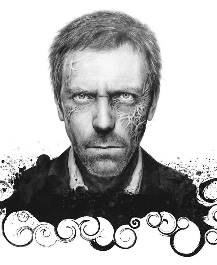 Dr. House by Olechka01