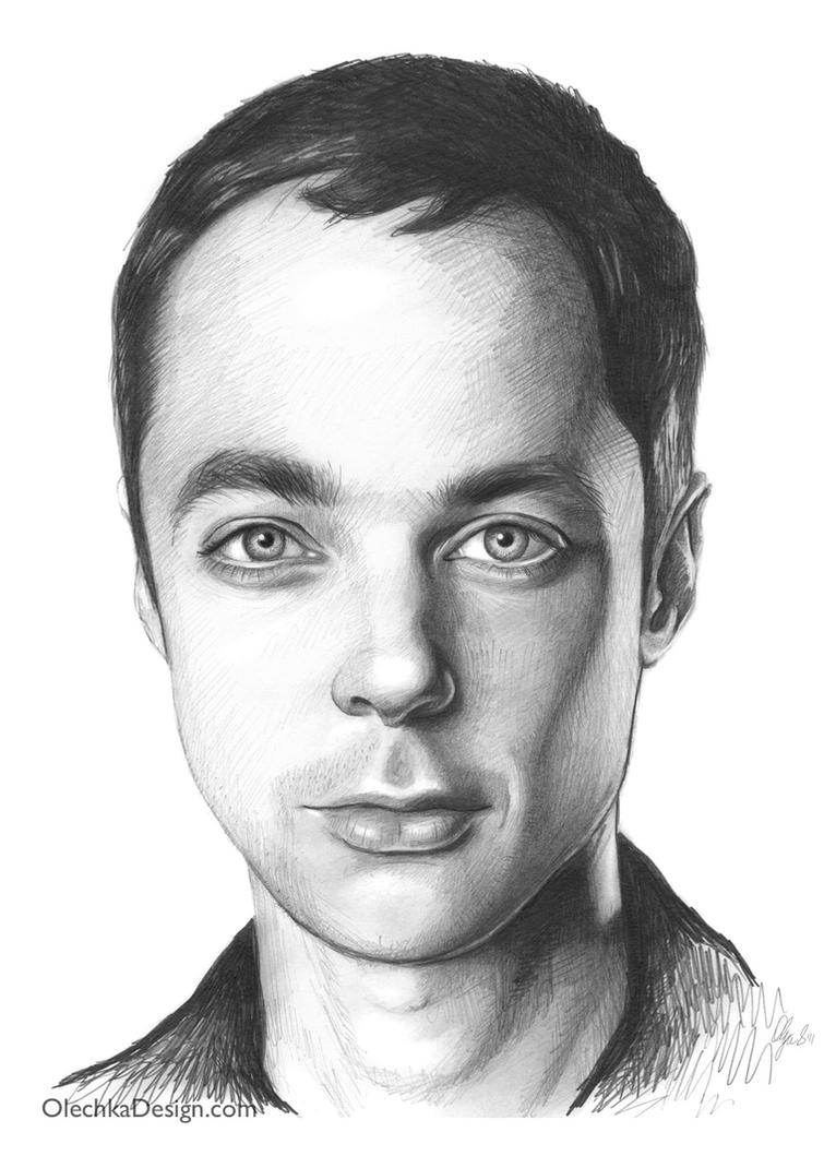 Sheldon Cooper - Jim Parsons by Olechka01