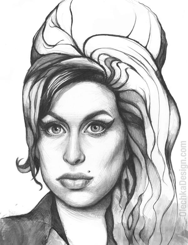 Amy Winehouse by Olechka01