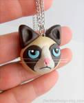 Grumpy Cat Necklace