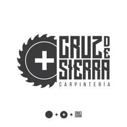 Cruz de Sierra - Carpentry logo design by EmofaMorales