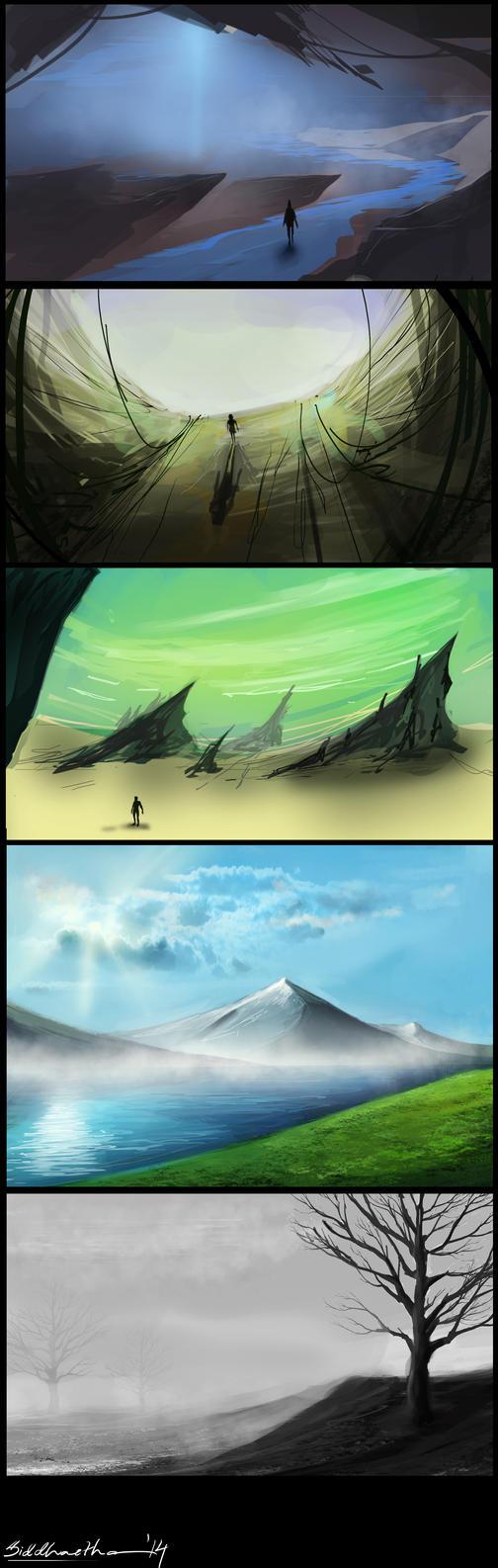 Environment Sketchdump by Sid-axn