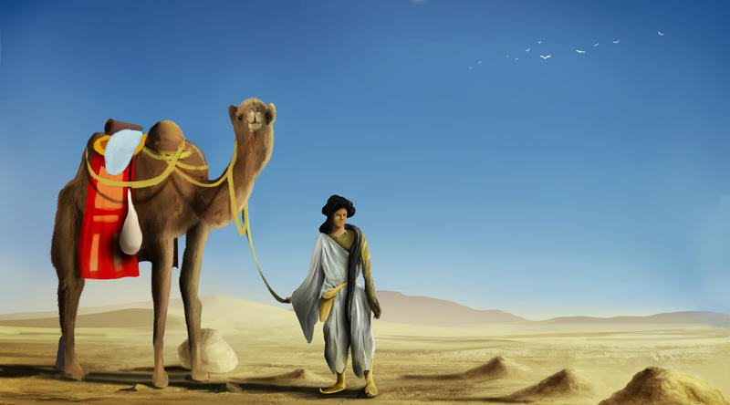 Desert Nomad by Sid-axn