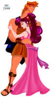 Hercules and Megara by manony