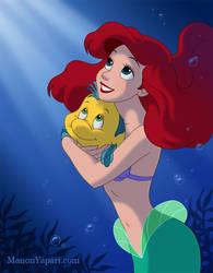 Ariel Holding Flounder