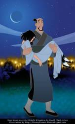 Fa Zhou Carries Mulan