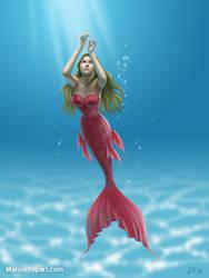 Jessica Alba as a Mermaid